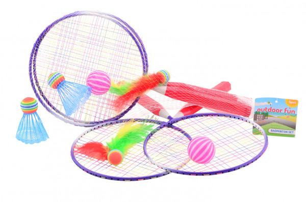 Kinder Federball-Set