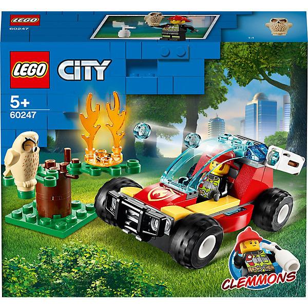 City 60247 Waldbrand