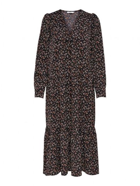 ONLLUNA L/S V-NECK DRESS WVN