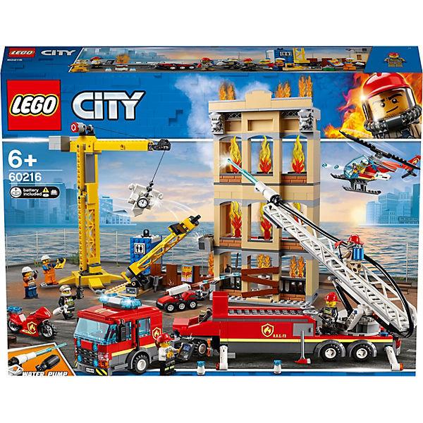 City 60216 Feuerwehr in der Stadt