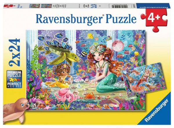 Puzzle Zauberhafte Meerjungfrauen