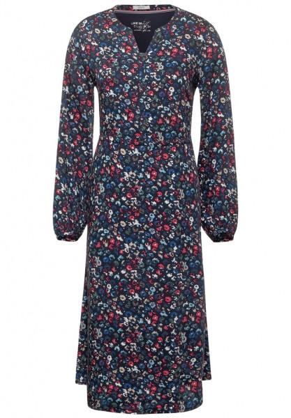 Midi-Kleid mit Blumen | Shirts & Tops | Bekleidung | Damen ...
