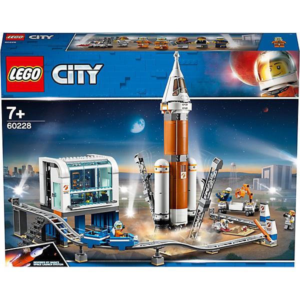 City 60228 Weltraumrakete mit Kontrollzentrum