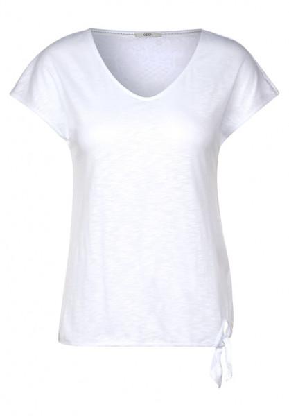 T-Shirt mit Spitze hinten