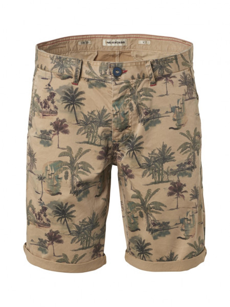 All Over Palm Printed Shorts