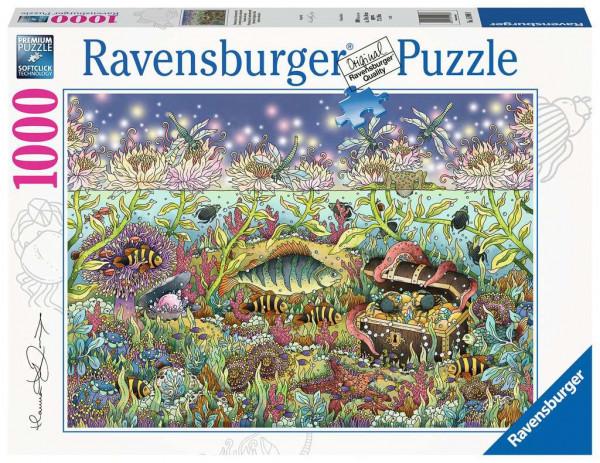 Puzzle Dämmerung im Unterwasserreich