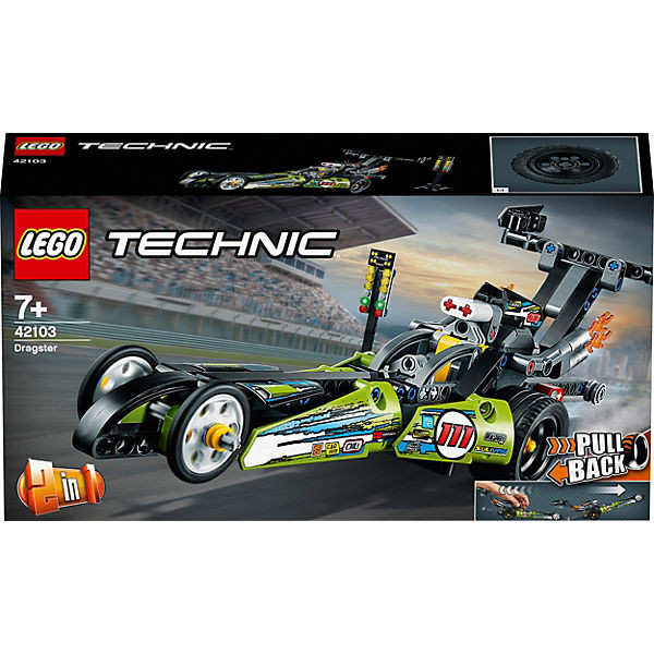 Technic 42103 Dragster Rennauto