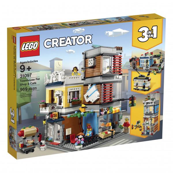 Lego Creator 3 in 1 Stadthaus