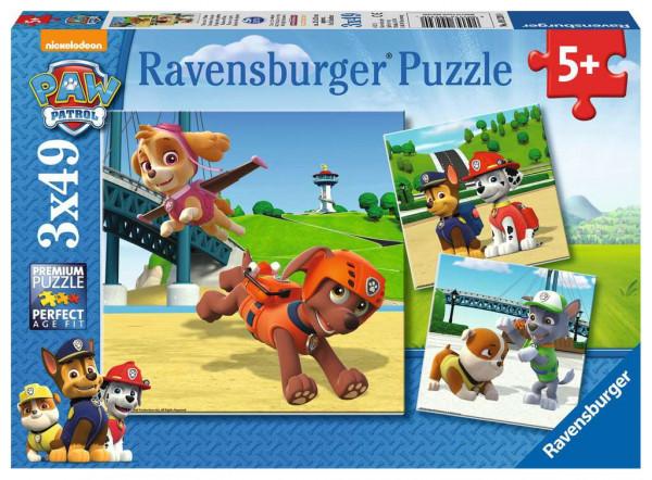 Puzzle Team auf 4 Pfoten