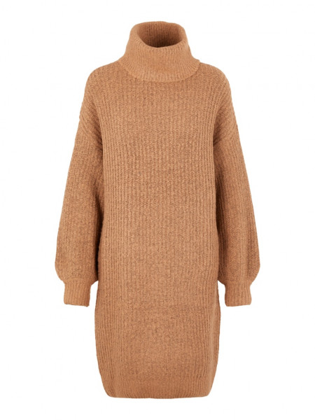 NMROBINA L/S HIGH NECK KNIT DRESS 6B