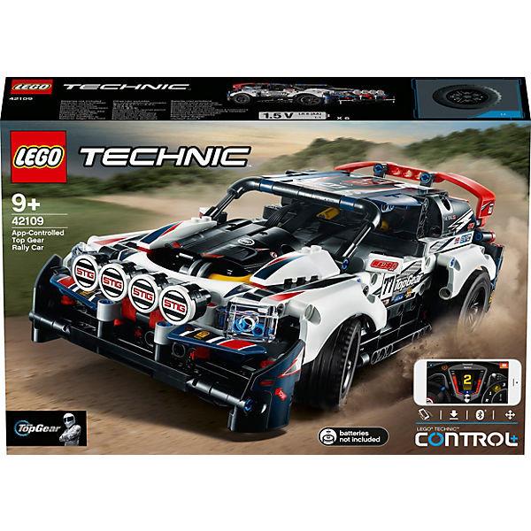 Technic 42109 Top-Gear Ralleyauto mit App-Steuerung