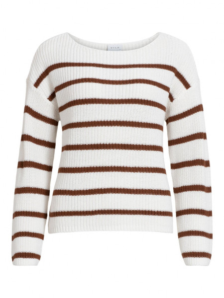 VIRUSH KNIT BOATNECK L/S TOP