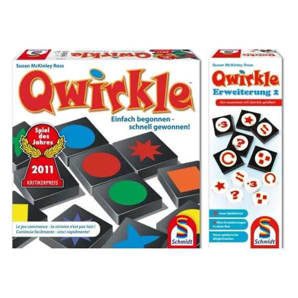 Qwirkle Grundspiel plus Erweiterung 2