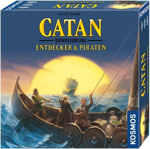 Catan Entdecker & Piraten Erweiterung