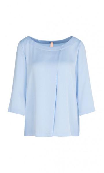Blusenshirt mit dekorativer Falte