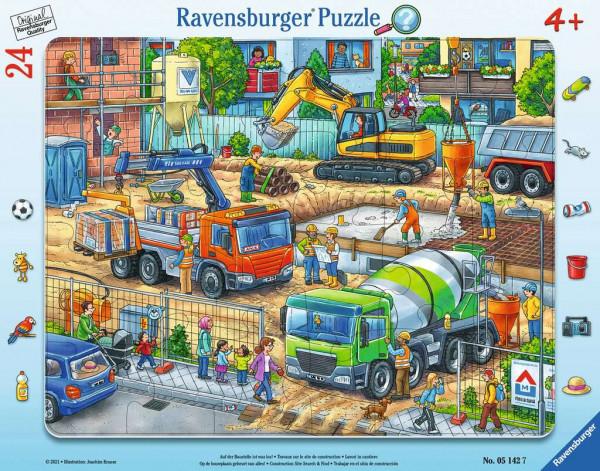 Puzzle Auf der Baustelle ist was los!