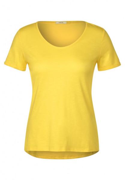 Basic T-Shirt in Unifarbe