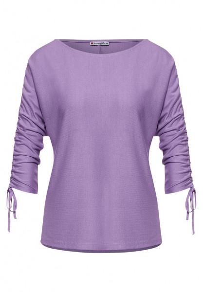 Shirt mit Raffungen