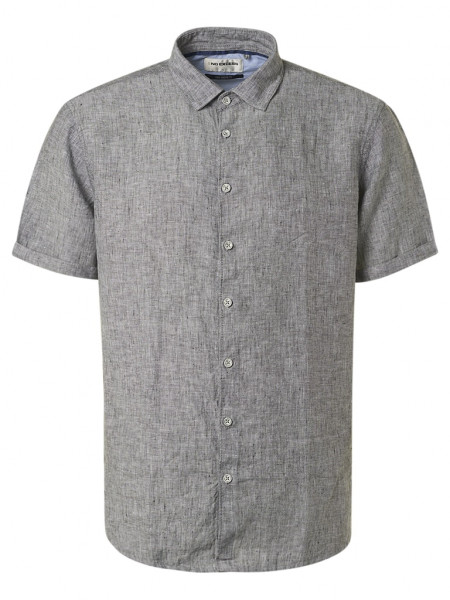 Linen Modern Fit Short Sleeve Shirt
