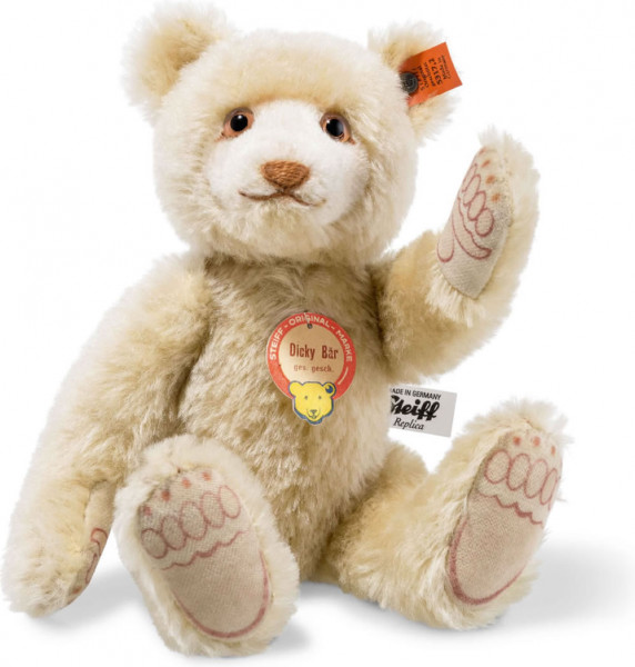 Teddybär Dicky Replica 1930