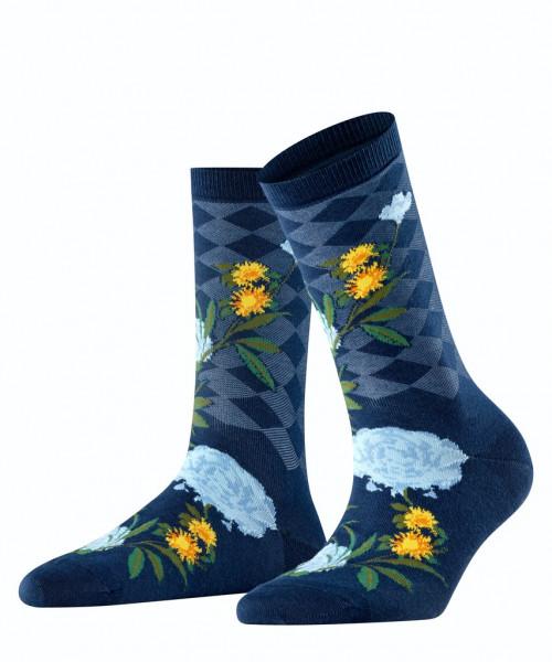 Socken Country Flower
