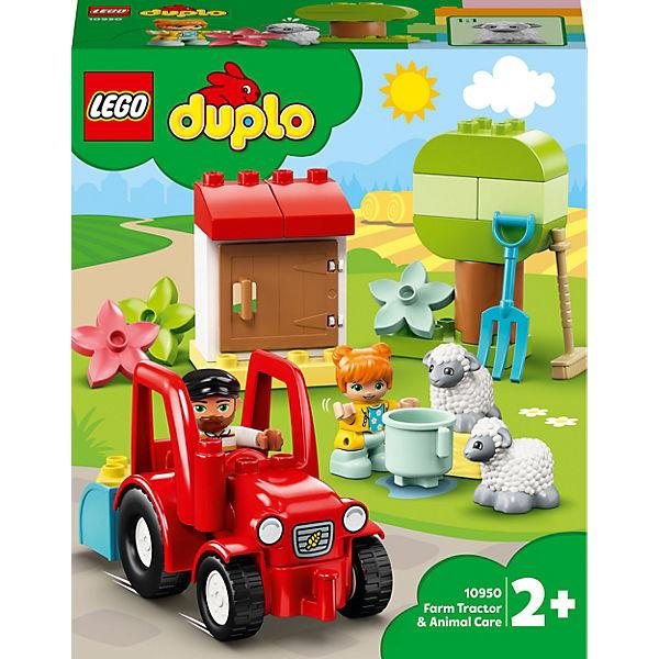 DUPLO® 10950 Traktor und Tierpflege