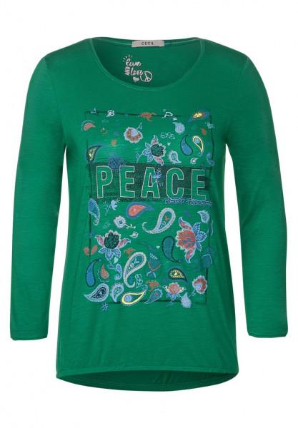 Shirt mit Paisley-Partprint