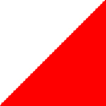 weiß/ rot