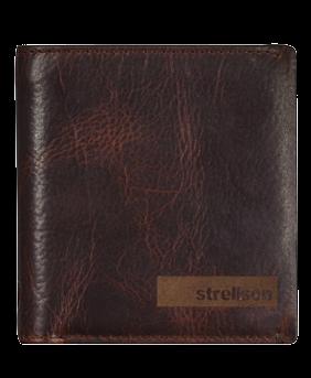 Strellson Geldbörse aus Nappaleder - Querfornat