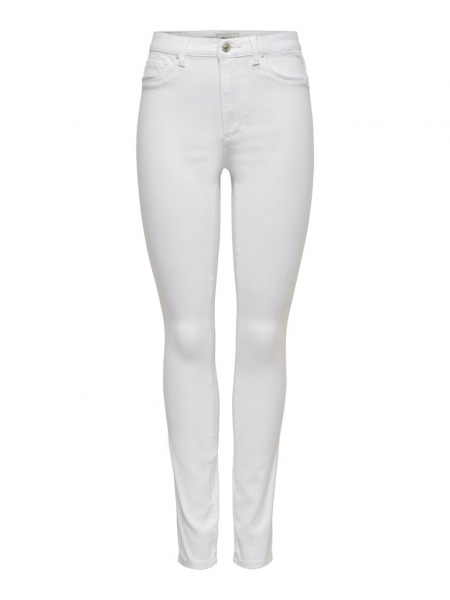 ONLROYAL LIFE HW SK JEANS WHITE NOOS