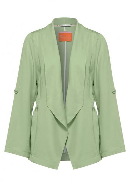 Indoor Jacke in Unifarbe