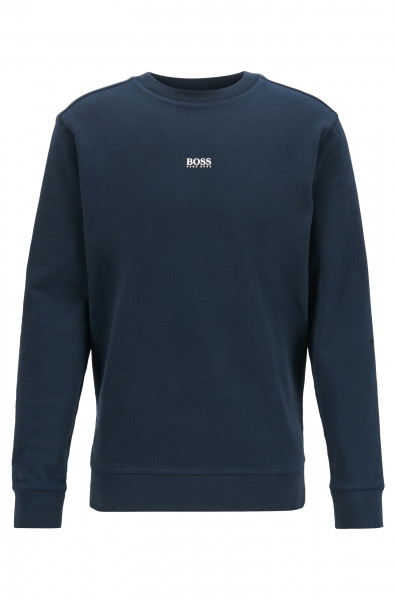 Relaxed-Fit Sweatshirt aus French Terry mit Kontrast-Logo