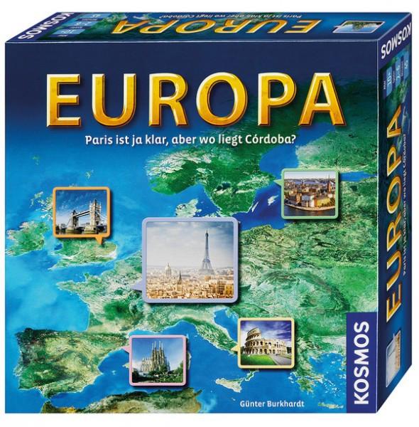 Europa - Paris ist ja klar, aber wo liegt Córdoba?