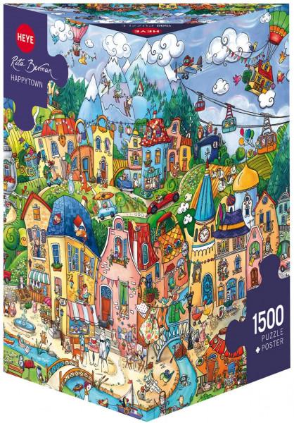 Puzzle 1500 Teile Happytown