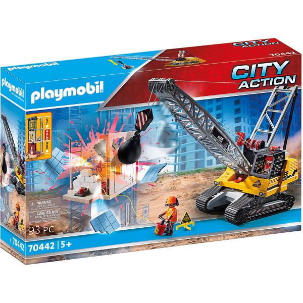 70442 Seilbagger mit Bauteil