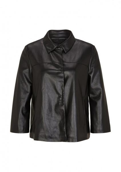 Fake Leather-Jacke