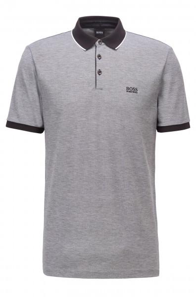Poloshirt aus Pima-Baumwolle mit Kontrastdetails