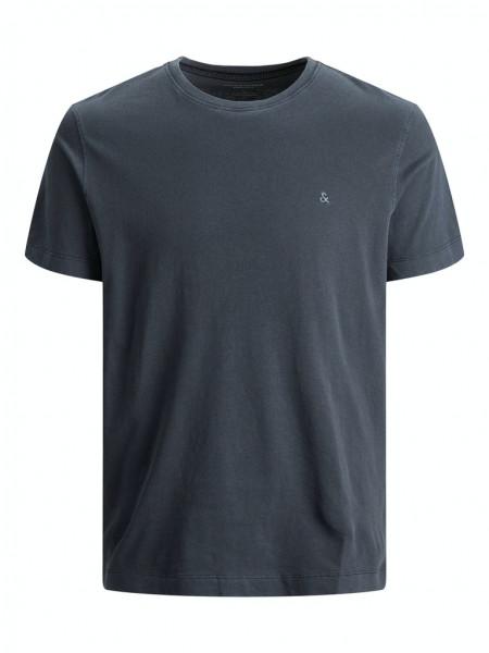 Basic-T-Shirt mit Rundhalsausschnitt