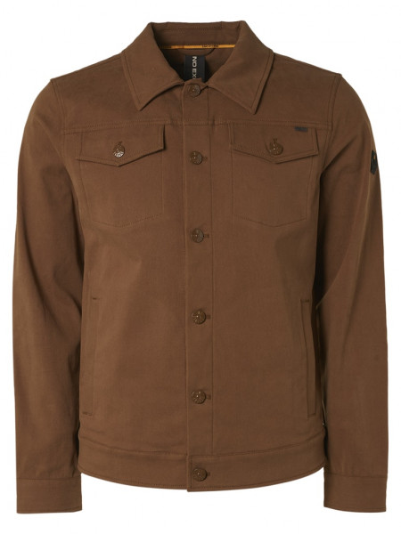 Jacket Short Fit Button Closure Stretch