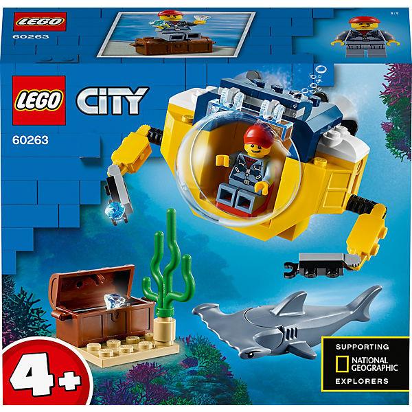 City 60263 Mini-U-Boot für Meeresforscher
