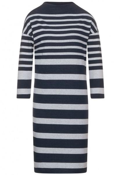 Knielanges Streifen Kleid