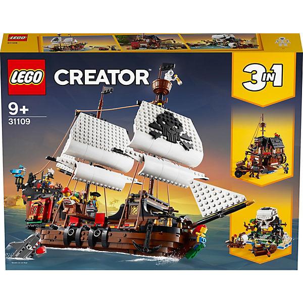 Creator 31109 Piratenschiff