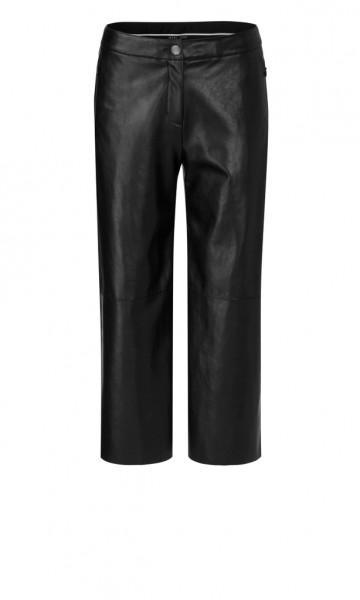 Kunstleder-Hose im Culotte-Style