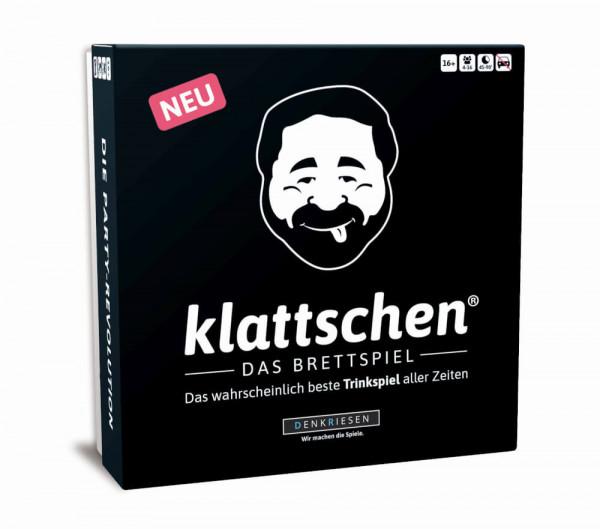 klattschen® - Trinkspiel - DAS BRETTSPIEL