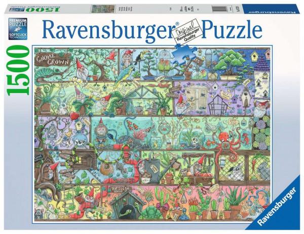 Puzzle Zwerge im Regal