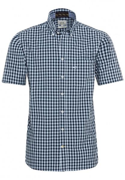 Kurzarm Hemd aus reiner Baumwolle