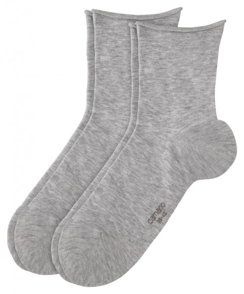 Women Basic cotton fine Ankle Socks 2p
