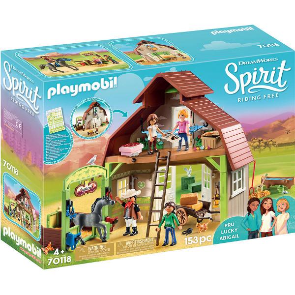 70118 Spirit - Stall mit Lucky, Pru & Abigail