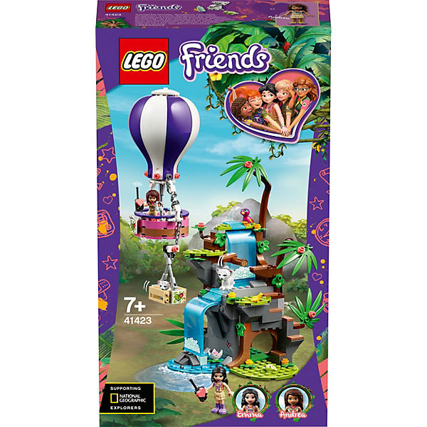 Friends 41423 Tiger-Rettung mit Heißluftballon