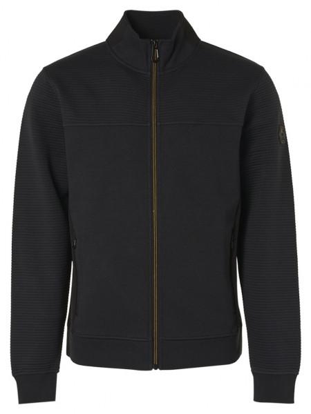 Sweater Full Zip Double Layer Jacquard
